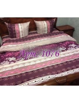 Евро-комплект постельного белья из ранфорса, рисунок 3Д, 100% хлопок, Арт. 1076