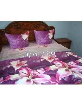 Полуторный комплект постельного, ранфорс, рисунок 3Д, 100% хлопок, Арт. 1304