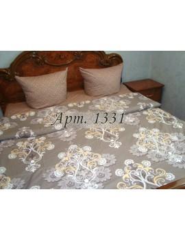 Полуторный комплект постельного, ранфорс, рисунок 3Д, 100% хлопок, Крупный орнамент Арт. 1331