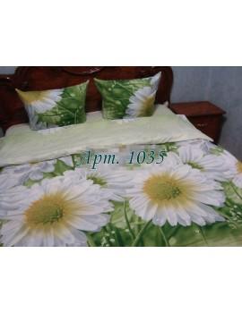 Семейный комплект постельного белья из ранфорса, рисунок 3Д, 100% хлопок, Арт.1035