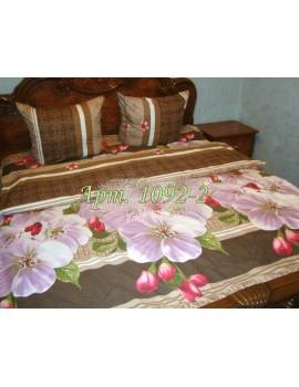 Семейный комплект постельного белья из ранфорса, рисунок 3Д, 100% хлопок, Арт. 1092-2