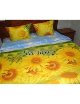 Семейный комплект постельного белья из ранфорса, рисунок 3Д, 100% хлопок, Арт.1051-2