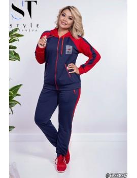 Спортивный костюм 63337 (кофта + брюки)