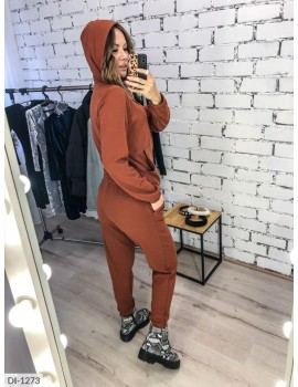 Спортивный костюм-тройка: Кофта+юбка+штаны DI-1273