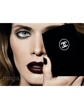 Тушь для ресниц Chanel 10 smoky brun (кожа) 8g, щеточка пушистая Шанель Коко
