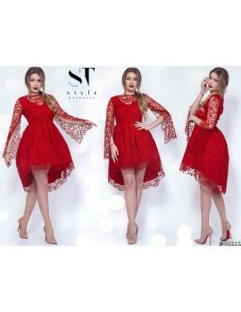 """Вечернее платье """"Марсель"""" Арт. 44211 Красное"""