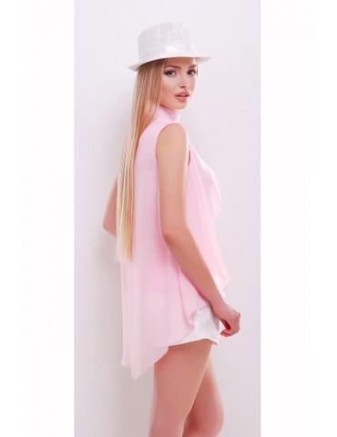 Блуза Санта-Круз, розовая, размеры ML