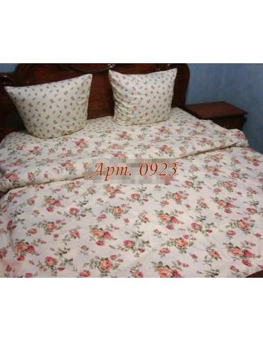 Двуспальный комплект постельного белья из бязи, Арт. 0923