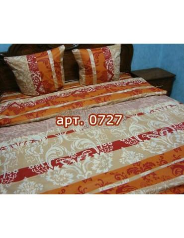Двуспальный комплект постельного белья из бязи, Арт. 0727