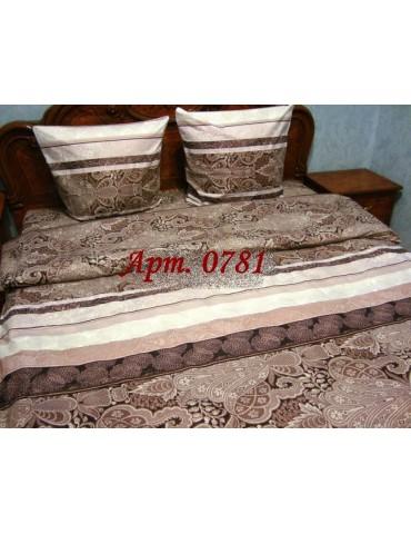 Двуспальный комплект постельного белья из бязи, Арт. 0781