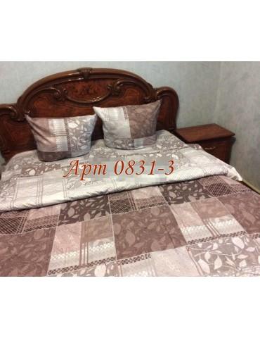Двуспальный комплект постельного белья из бязи, Арт. 0831-3