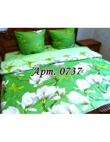Двуспальный комплект постельного белья из бязи, Арт. 0737