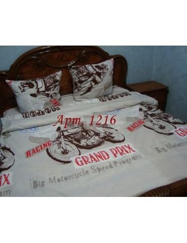 Двуспальный комплект постельного белья из бязи, Арт. 1216