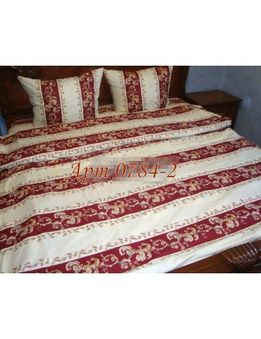 Двуспальный комплект постельного белья из бязи, Арт. 0784-2
