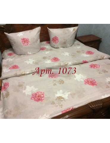 Двуспальный комплект постельного белья из бязи, Арт. 1073