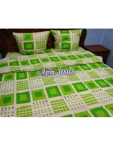 Двуспальный комплект постельного белья из бязи, Арт. 0805
