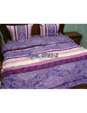 Двуспальный комплект постельного белья из бязи, Арт. 0781-2
