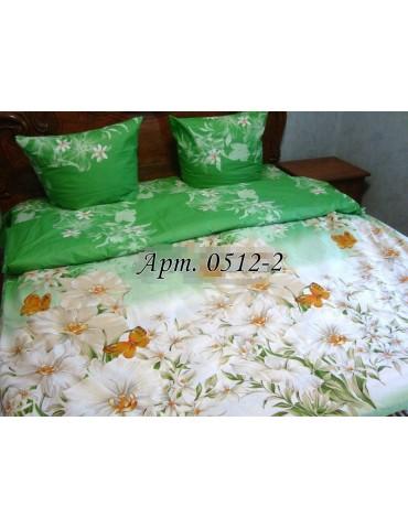 Двуспальный комплект постельного белья из бязи, Арт. 0512-2