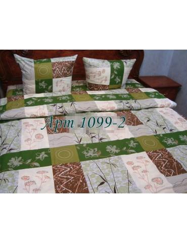 Двуспальный комплект постельного белья из бязи, Арт. 1099-2
