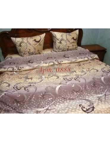 Двуспальный комплект постельного белья из бязи, Арт. 0888