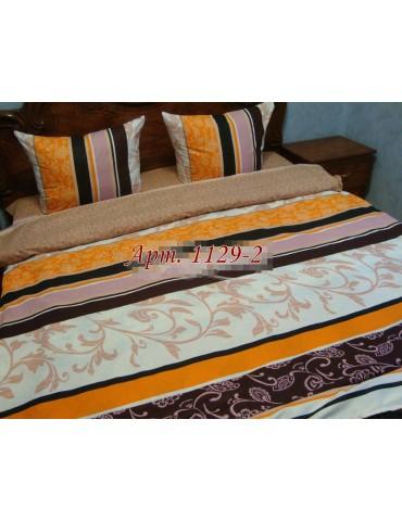 Двуспальный комплект постельного белья из бязи, Арт. 1129-2