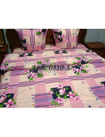 Двуспальный комплект постельного белья из бязи, Арт. 0810-3