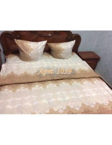 Евро-комплект постельного белья из бязи, Арт. 1039