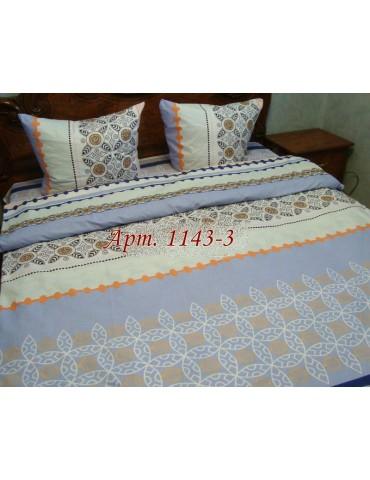 Евро-комплект постельного белья из бязи, Арт. 1143-3