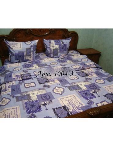 Евро-комплект постельного белья из бязи, Арт. 1004-3