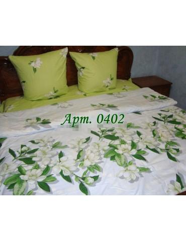 Евро-комплект постельного белья из бязи, Арт. 0402