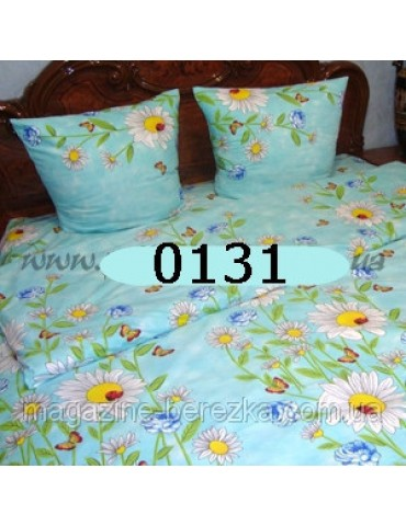 Евро-комплект постельного белья из бязи, Арт. 0131