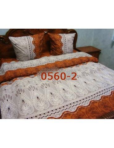 Евро-комплект постельного белья из бязи, Арт. 0560-2