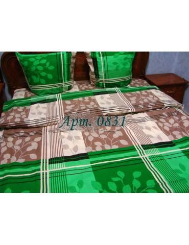 Евро-комплект постельного белья из бязи, Арт. 0831