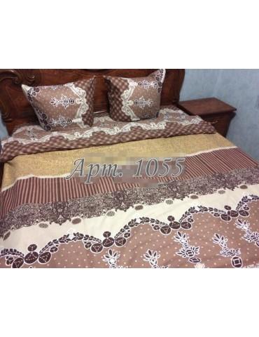 Евро-комплект постельного белья из бязи, Арт. 1055