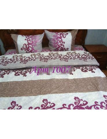 Евро-комплект постельного белья из бязи, Арт. 1007