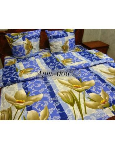 Евро-комплект постельного белья из бязи, Арт. 0662-2