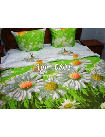 Евро-комплект постельного белья из бязи, Арт. 0801