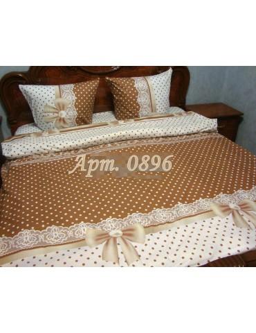 Евро-комплект постельного белья из бязи, Арт. 0896
