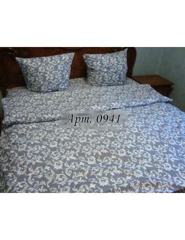 Евро-комплект постельного белья из бязи, Арт. 0941