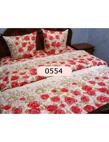 Евро-комплект постельного белья из бязи, Арт. 0554