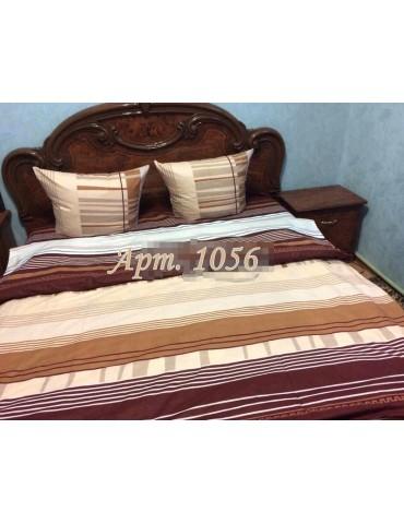 Евро-комплект постельного белья из бязи, Арт. 1056