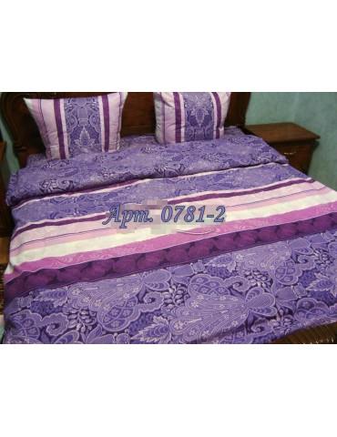 Евро-комплект постельного белья из бязи, Арт. 0781-2