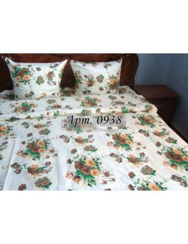 Евро-комплект постельного белья из бязи, Арт. 0938