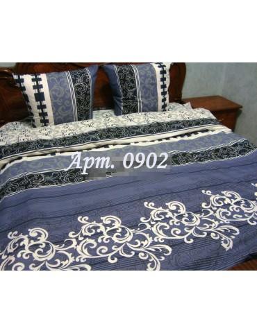 Евро-комплект постельного белья из бязи, Арт. 0902