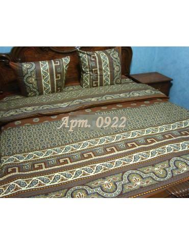 Евро-комплект постельного белья из бязи, Арт. 0922