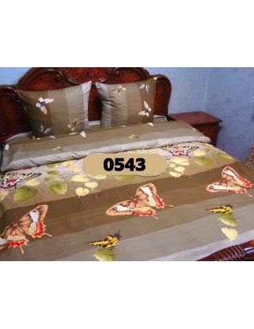 Евро-комплект постельного белья из бязи, Арт. 0543