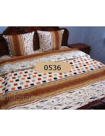 Евро-комплект постельного белья из бязи, Арт. 0536