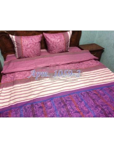 Евро-комплект постельного белья из бязи, Арт. 1059-2