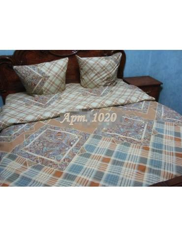 Евро-комплект постельного белья из бязи, Арт. 1020