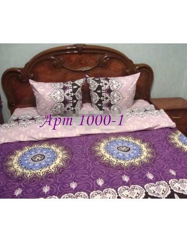 Евро-комплект постельного белья из бязи, Арт. 1000-2